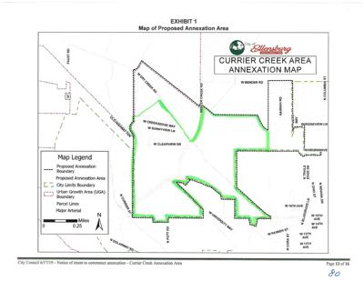 Proposed Annexation Area