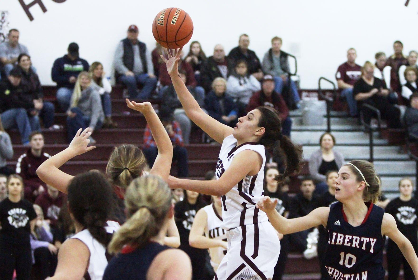 KHS vs Liberty Christian girls basketball Kittitas