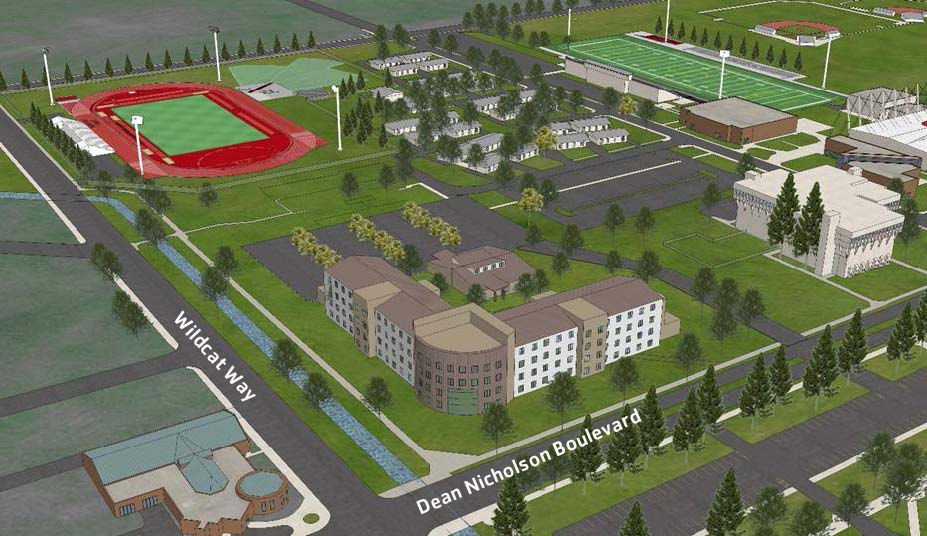 Proposed residence hall at CWU could ease pressure on campus housing ...