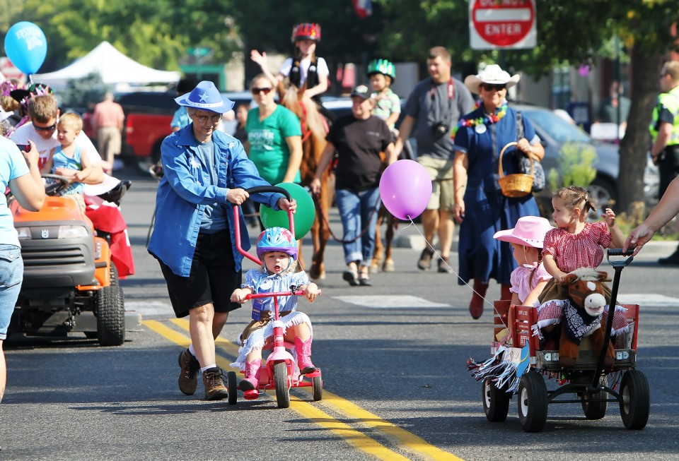 Junior Rodeo parade