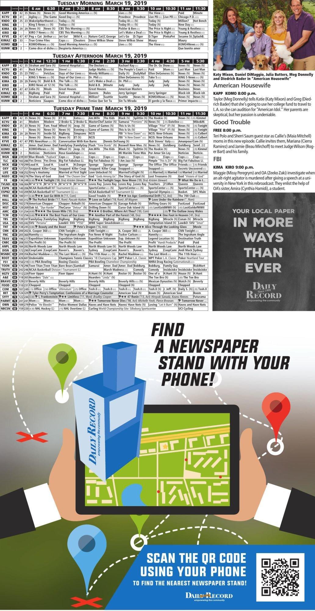 03-18-19-Classifieds-B04 pdf | | dailyrecordnews com