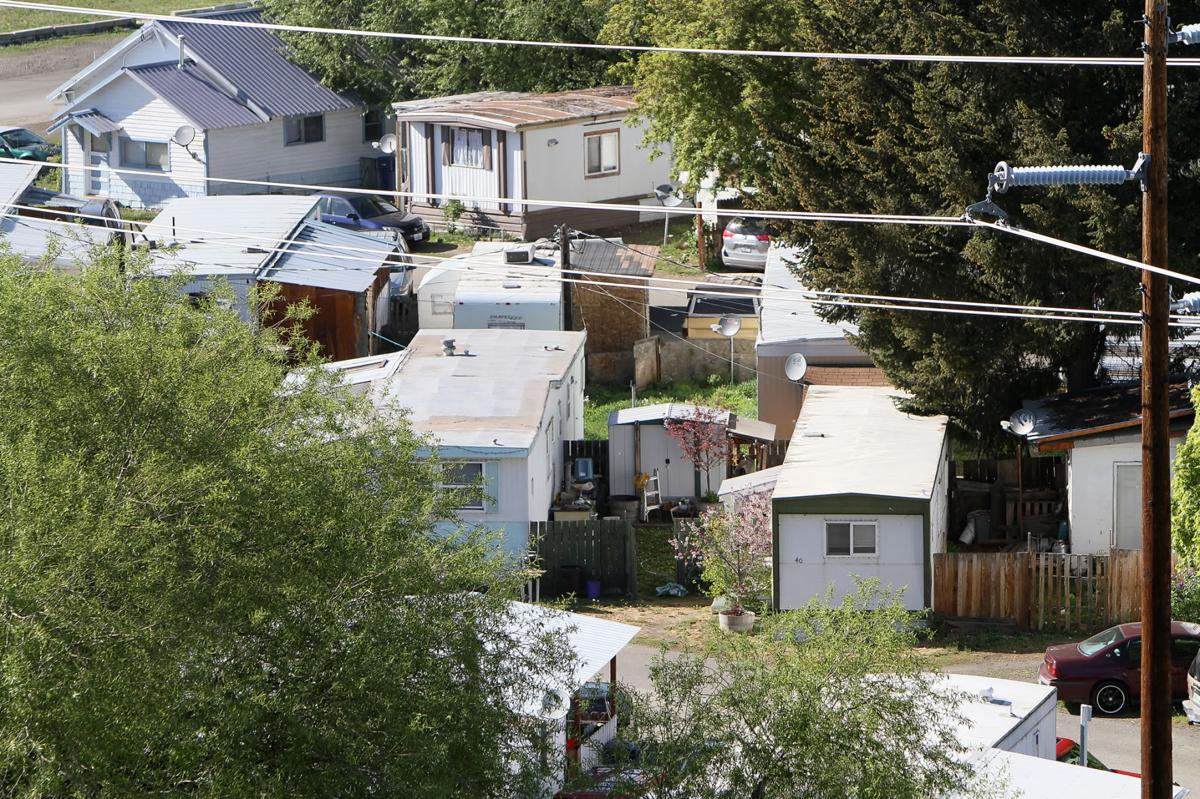 County Officials Hand Deliver Letters To Mobile Home Park