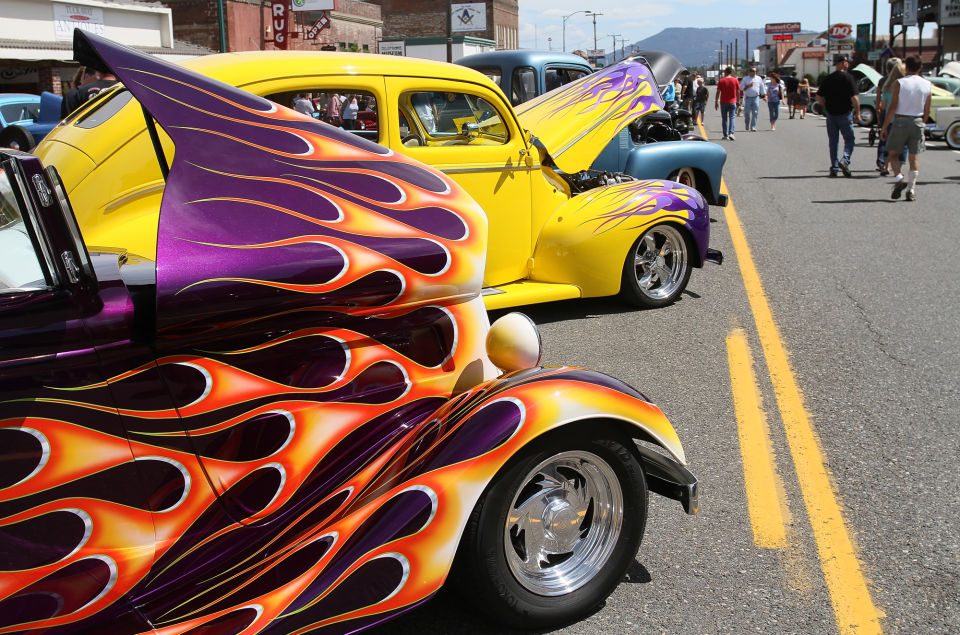 Cruise Cle Elum Car Show