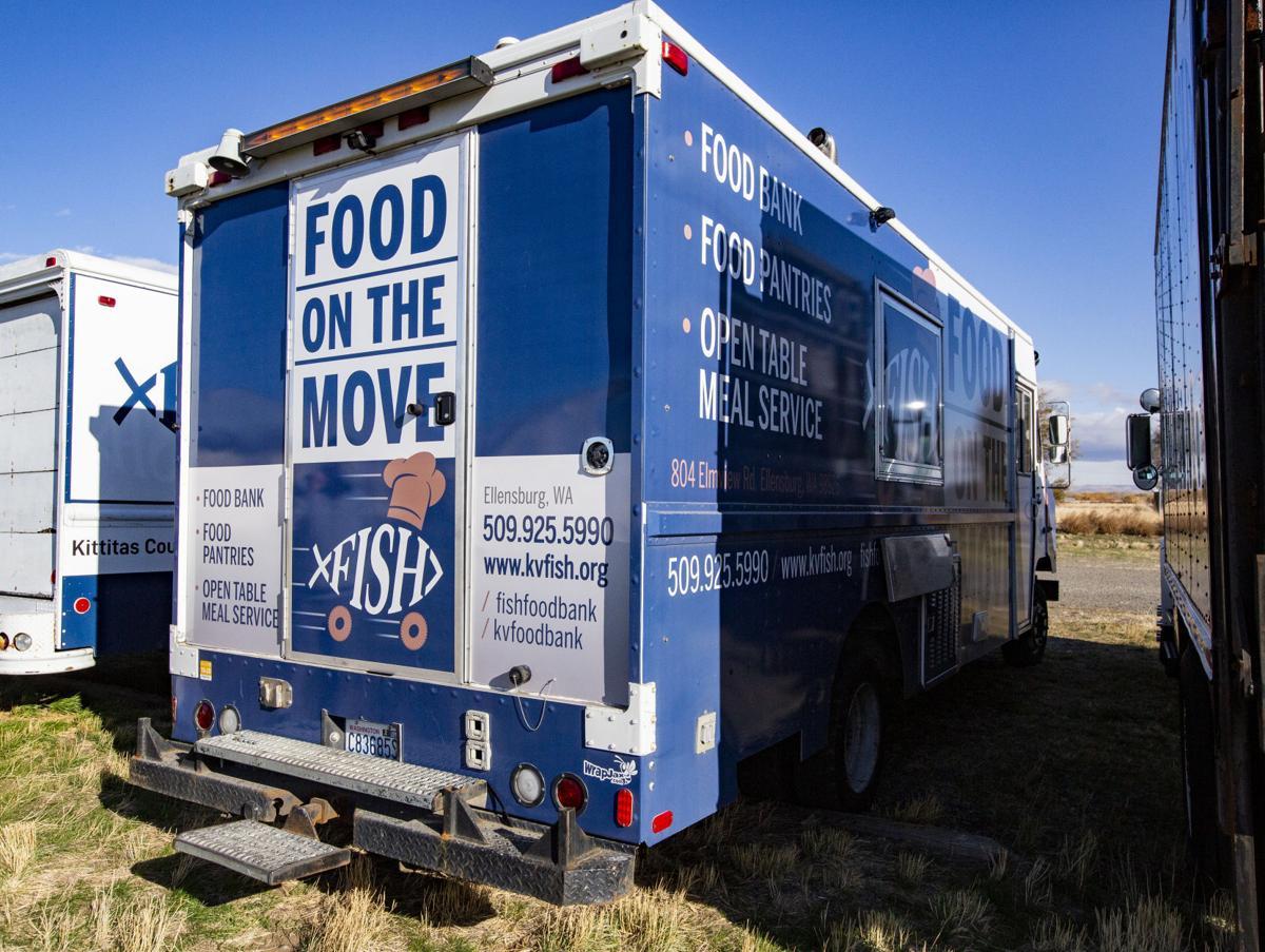 Fish Food Bank Truck