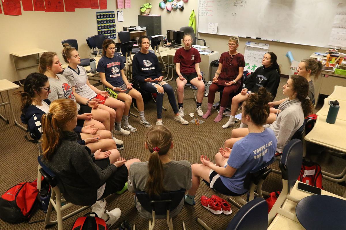 EHS Girls Basketball Meditation
