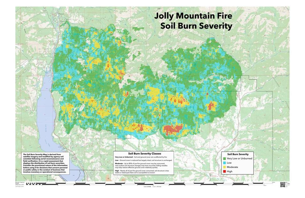 Mapping Shows Less Damage To Land Than First Expected After Jolly