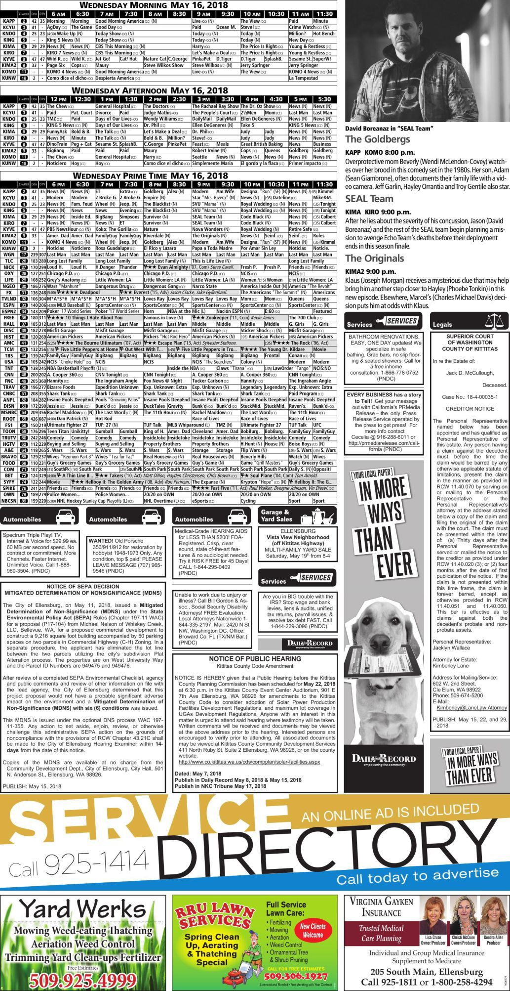 Phenomenal 05 15 18 Classifieds B04 Pdf Dailyrecordnews Com Caraccident5 Cool Chair Designs And Ideas Caraccident5Info