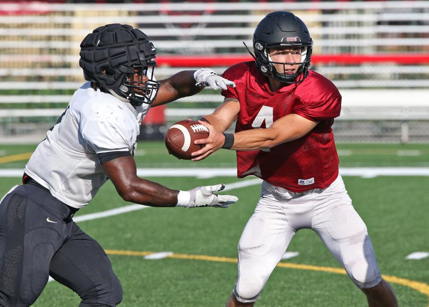 Redshirt freshman Canon Racanelli embracing starting role at quarterback for CWU