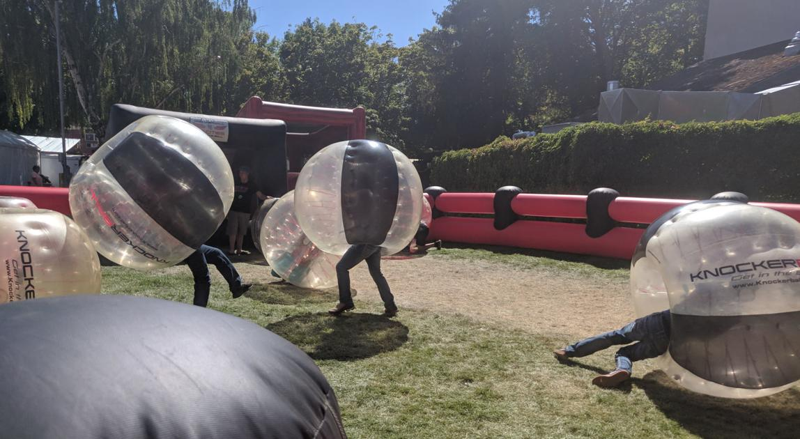 Knockerball Bounces Into The Fair For The First Time