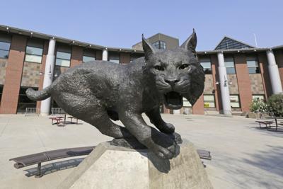 CWU Wildcat statue