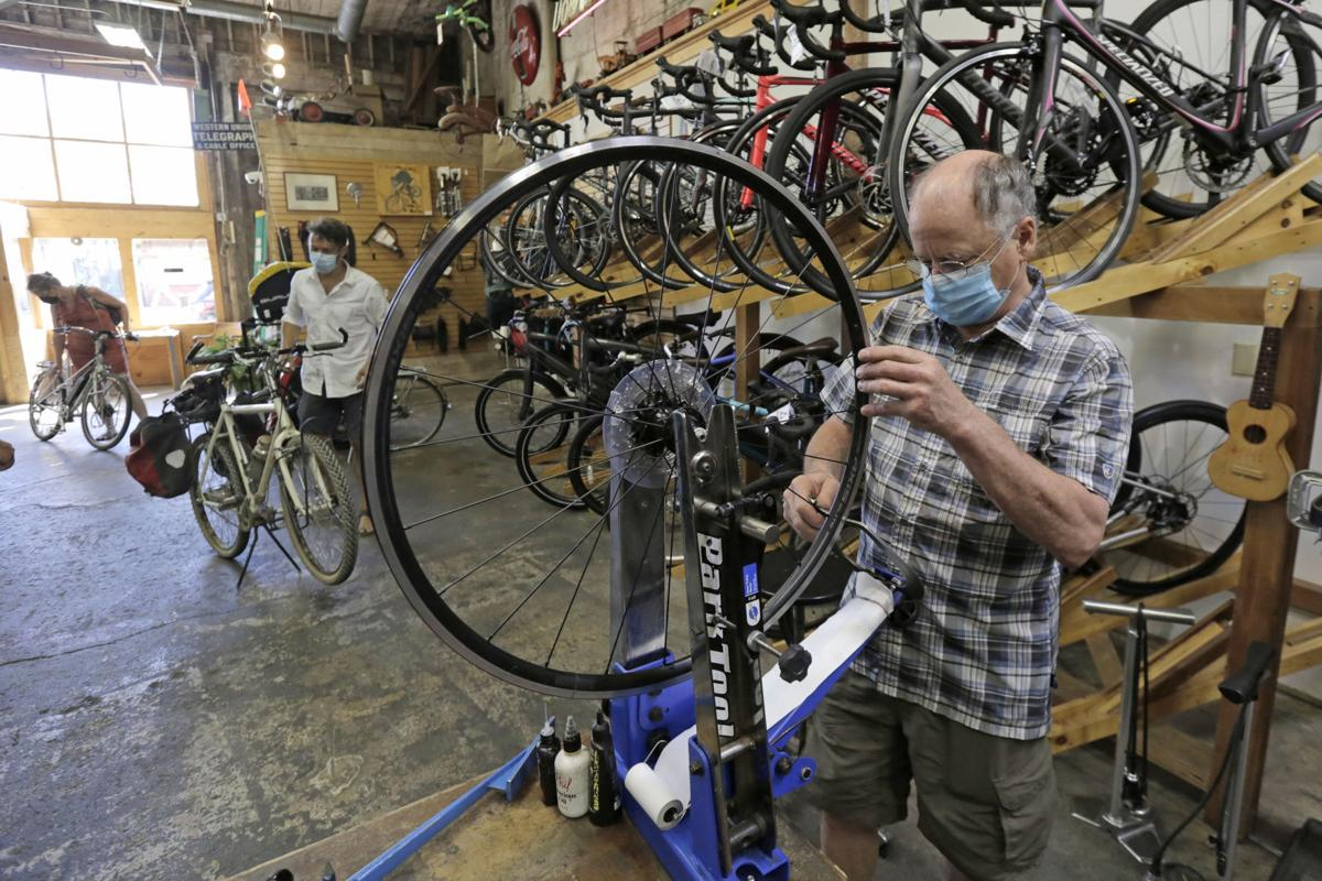 Recycle Bicycle Shop