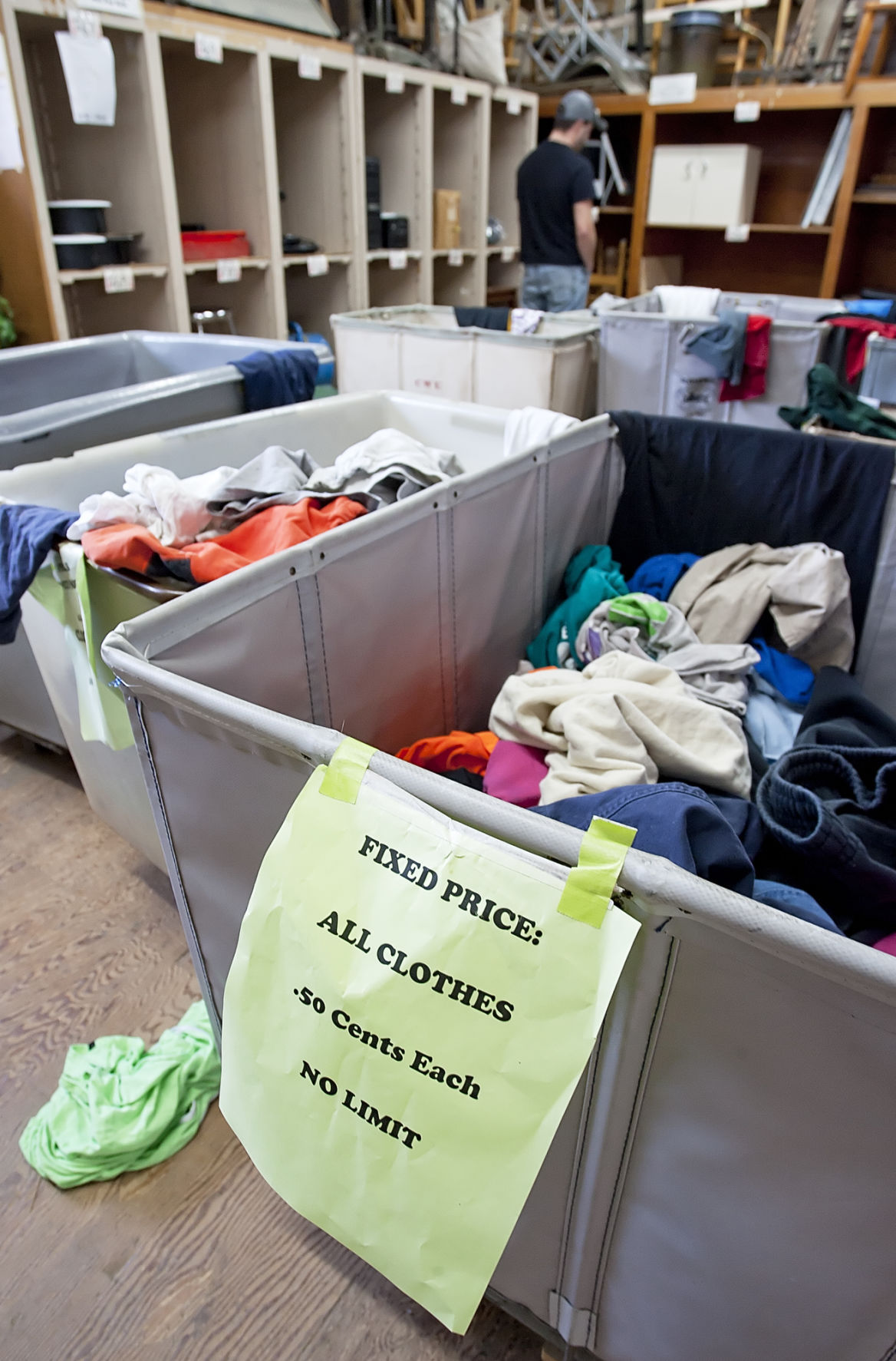 CWU surplus sales are a treasure trove of deals and history