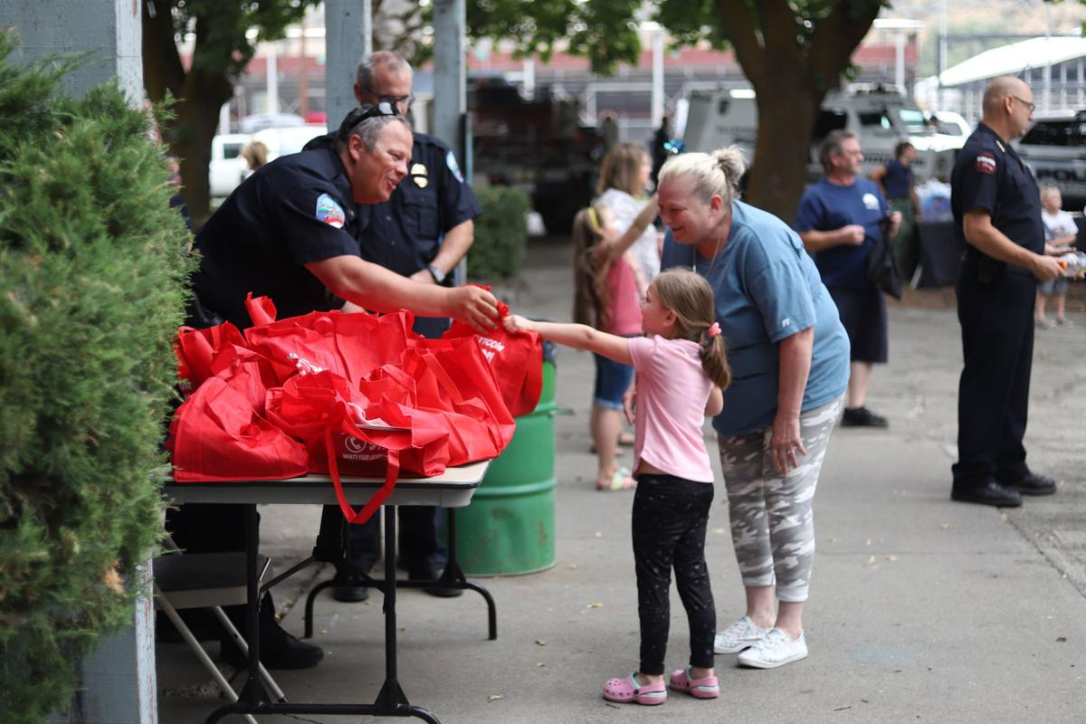 Fun with a focus: National Night Out emphasizes child safety measures