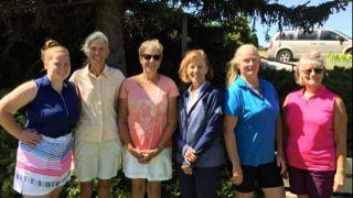 Women's golf league