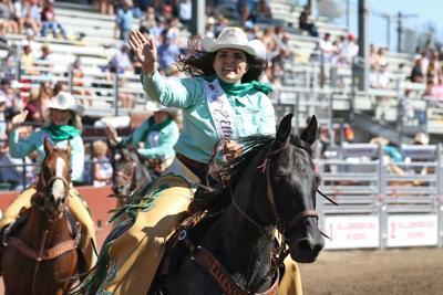 Ellensburg Rodeo Finale -queen