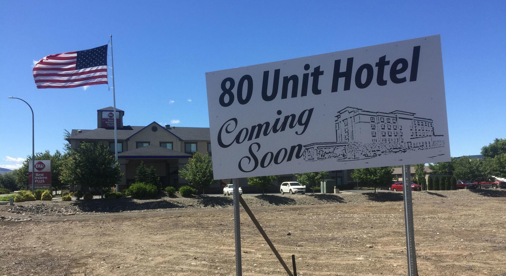 80-unit hotel & Under construction: Ellensburg a hub of construction activity | News ...