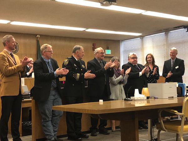 Beginning his sixth term, Kittitas County Sheriff Gene Dana