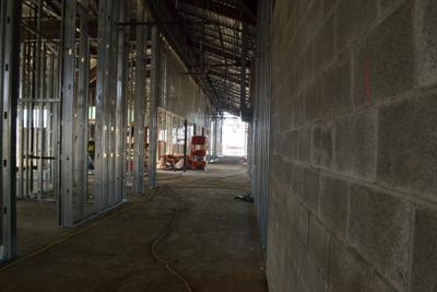 Ida Aronica under construction