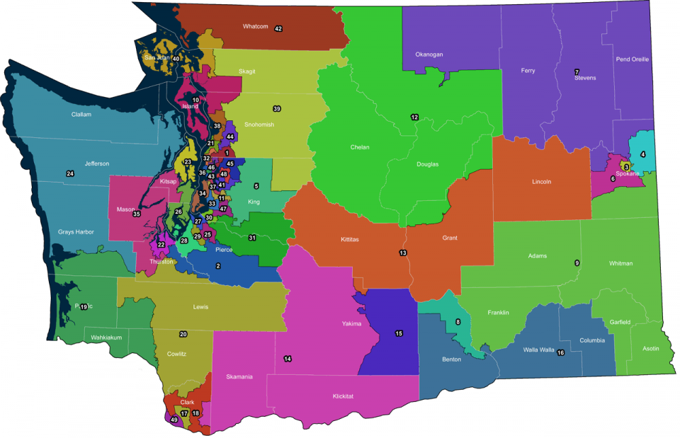 Washington's 13th Legislative District to increase in area | News