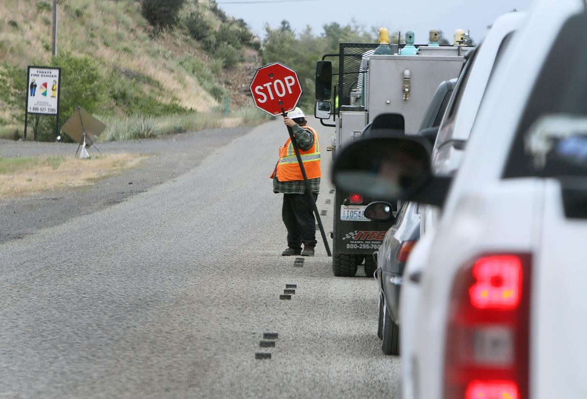 Under construction: Cle Elum working with WSDOT on several
