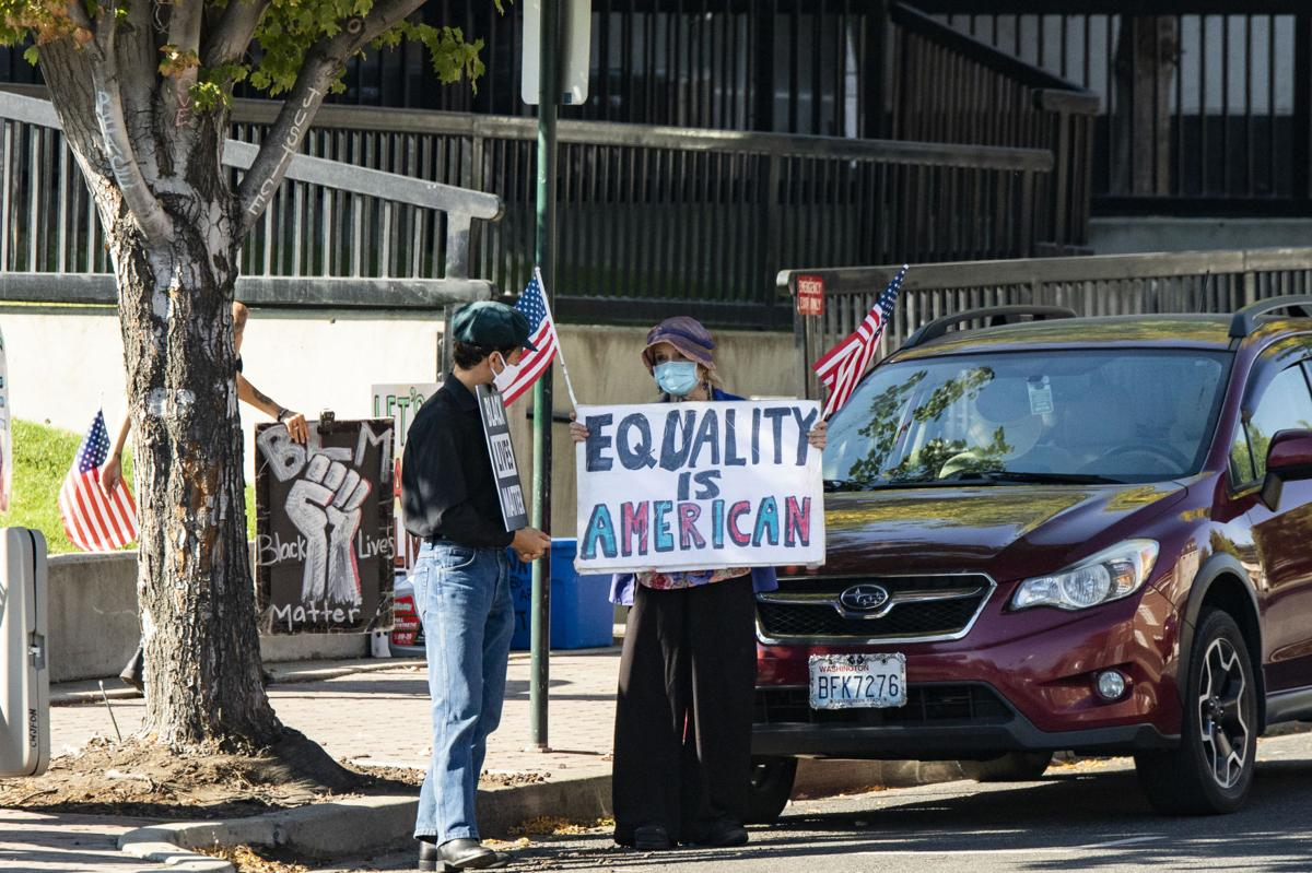BLM Protest Marks 100 Days
