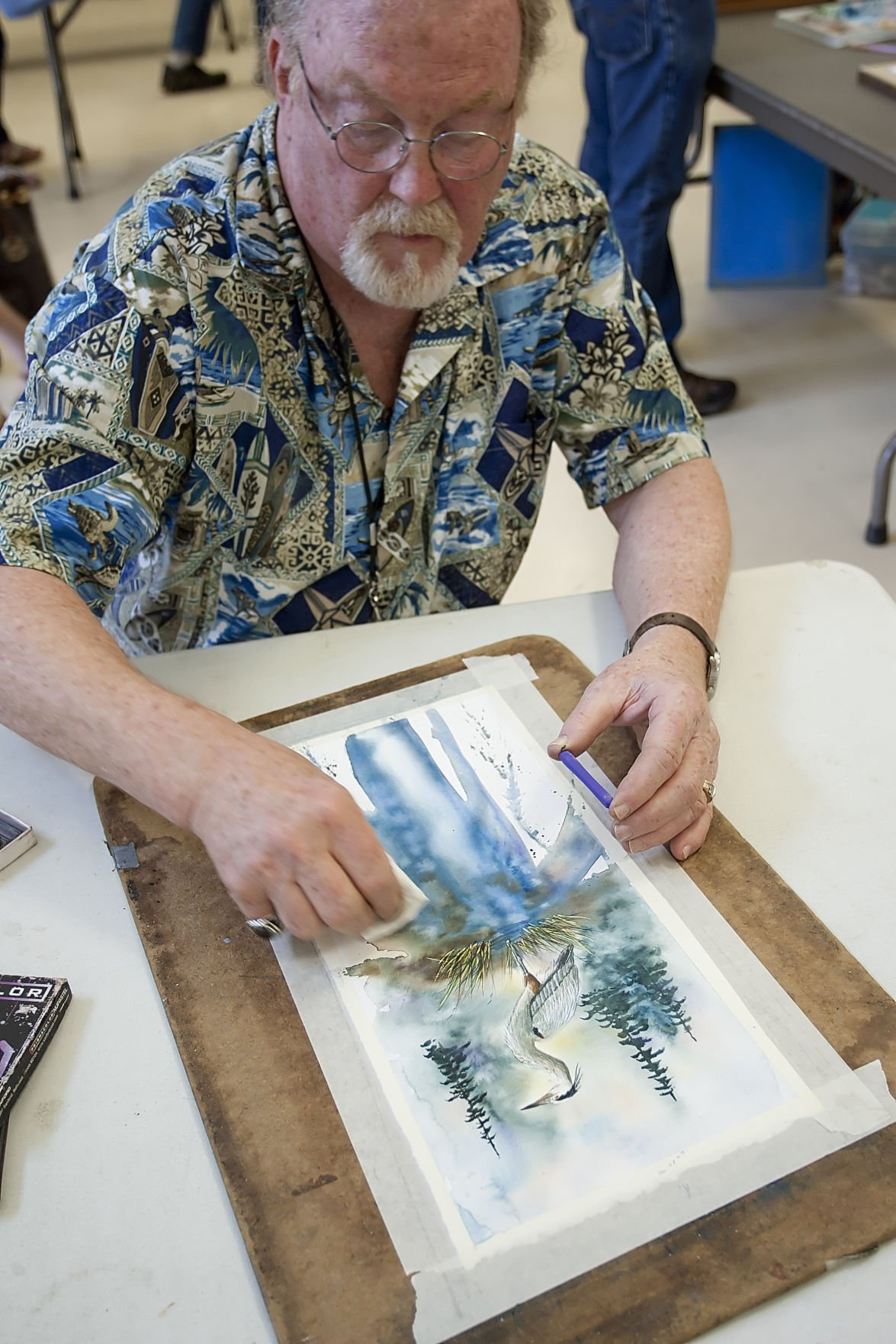 Quick Draw Event Breeds Friendly Ribbing Between Artists News