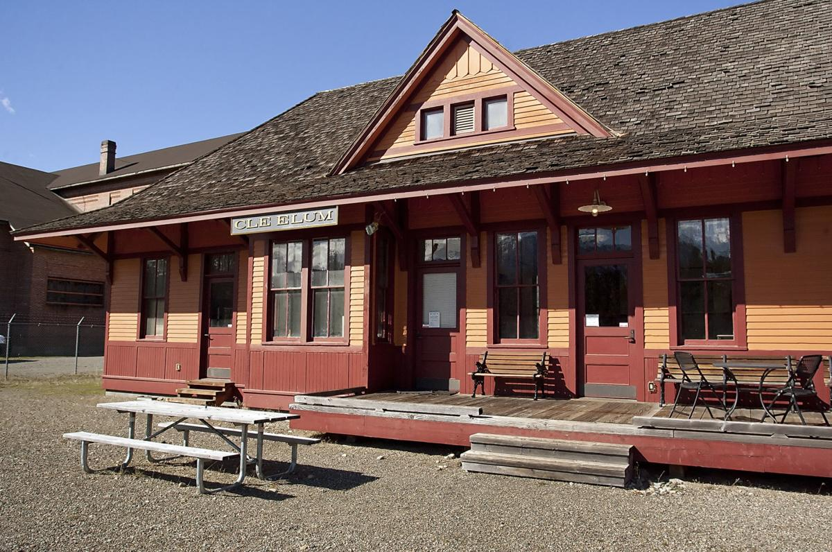 a7203e1e5cd Historic South Cle Elum depot offers visitors a glimpse into the golden  days of train travel
