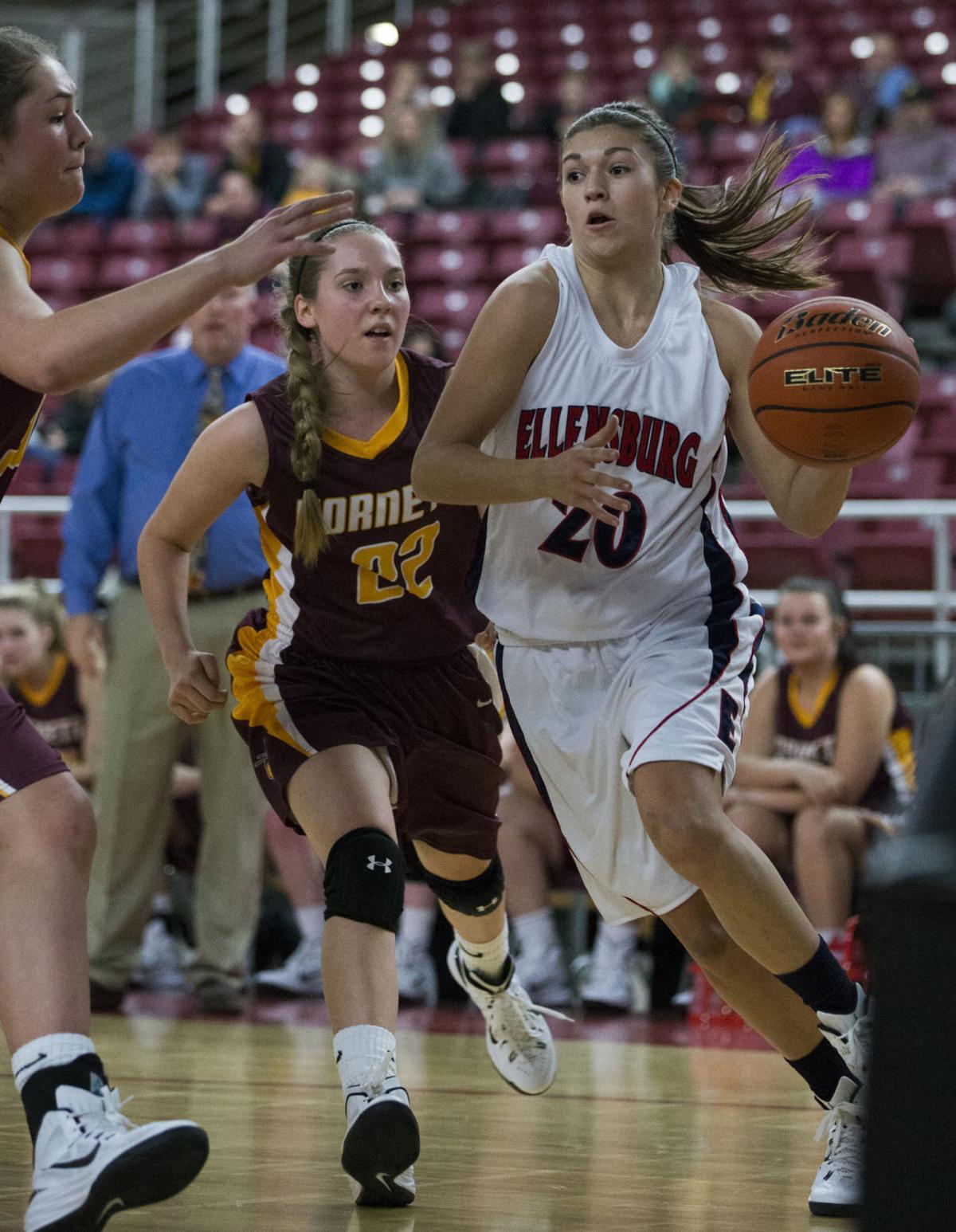 Ellensburg High School girls basketball vs. White River