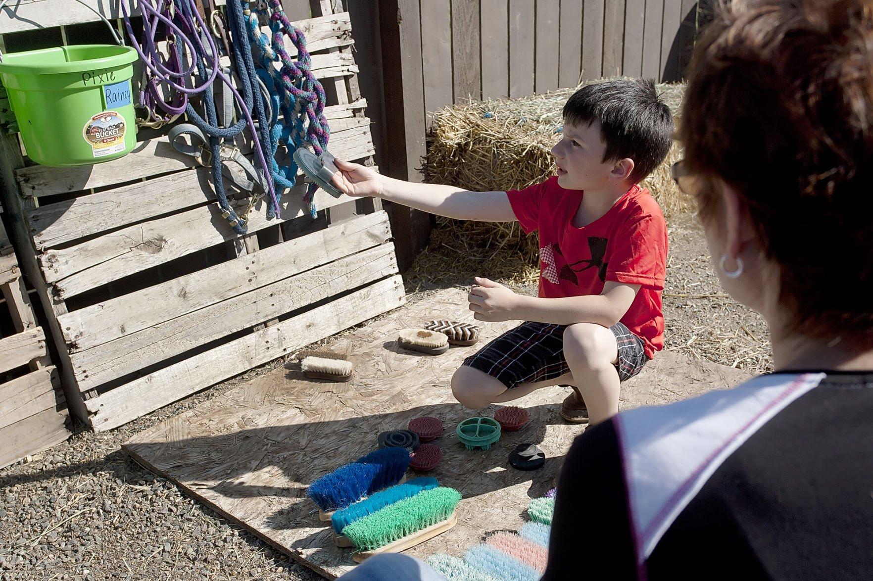 Shadow Wing Ranch teaches kids life skills