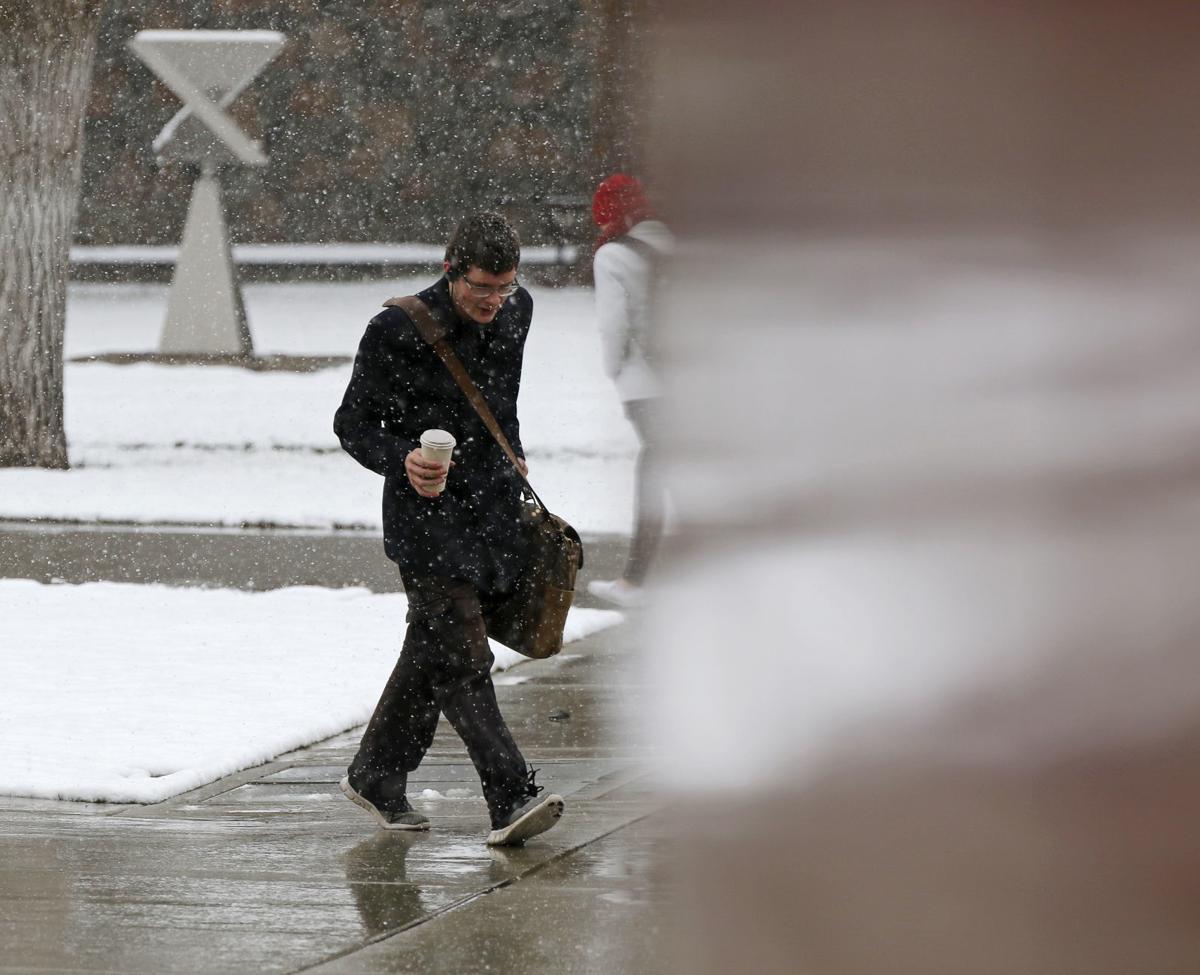 Snow in Ellensburg
