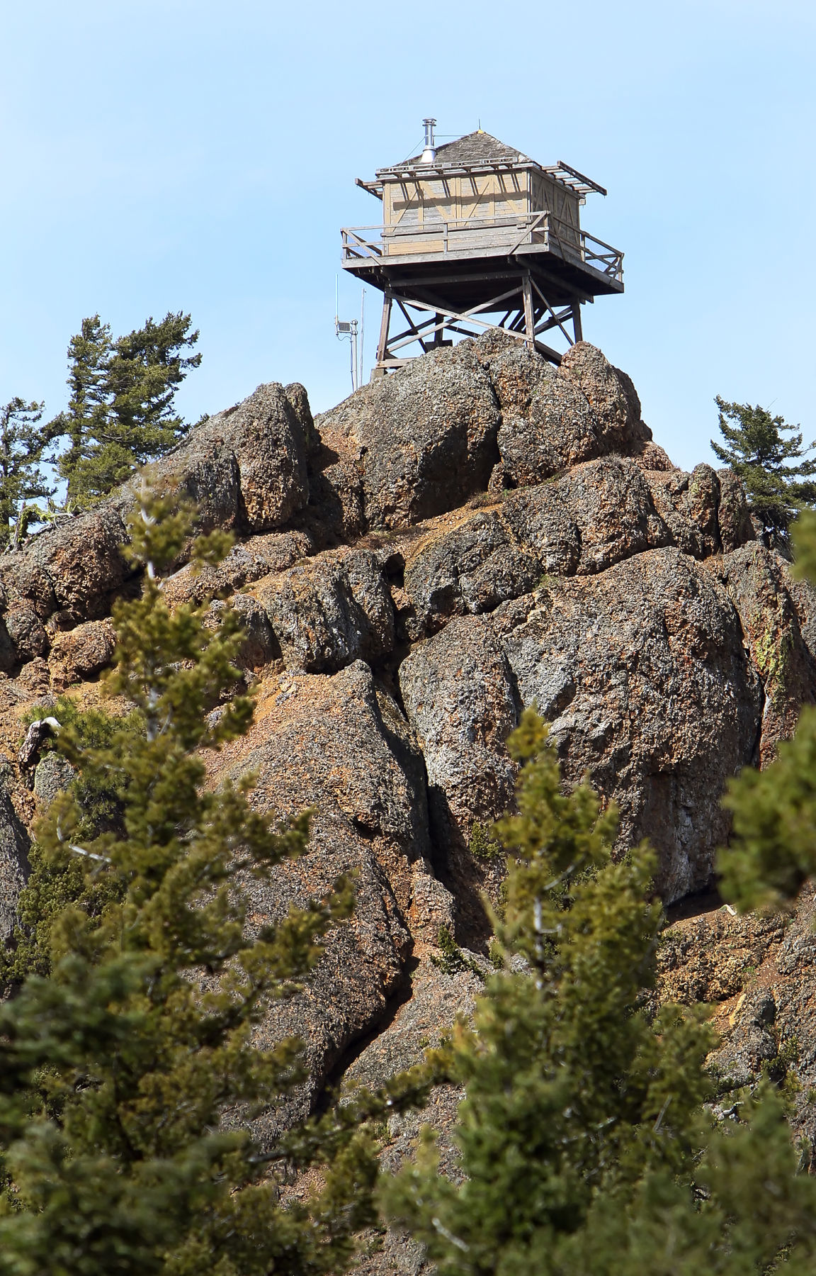 Red Top Mountain fire lookout