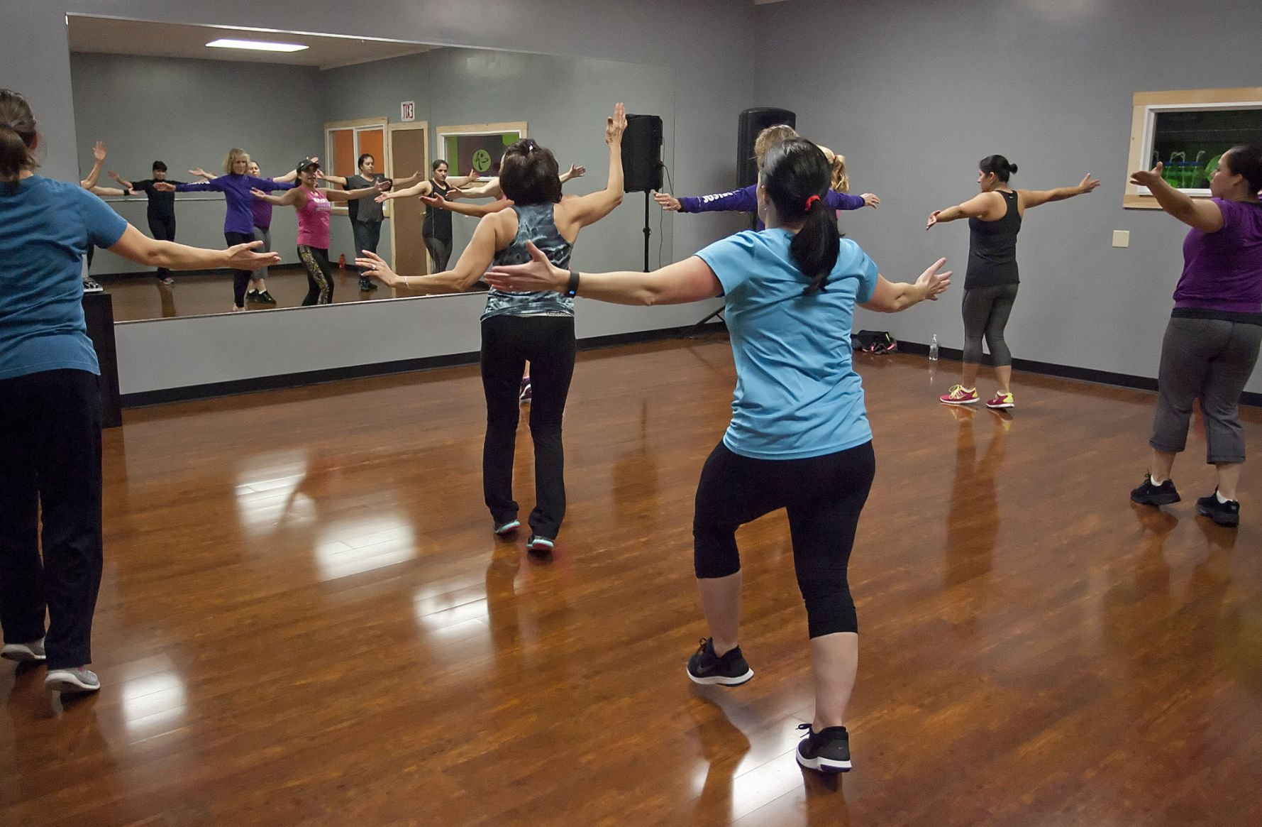physical education resume%0A New studio provides space for dance  fitness
