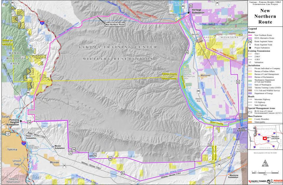 New proposal for Vantage Pomona powerline News