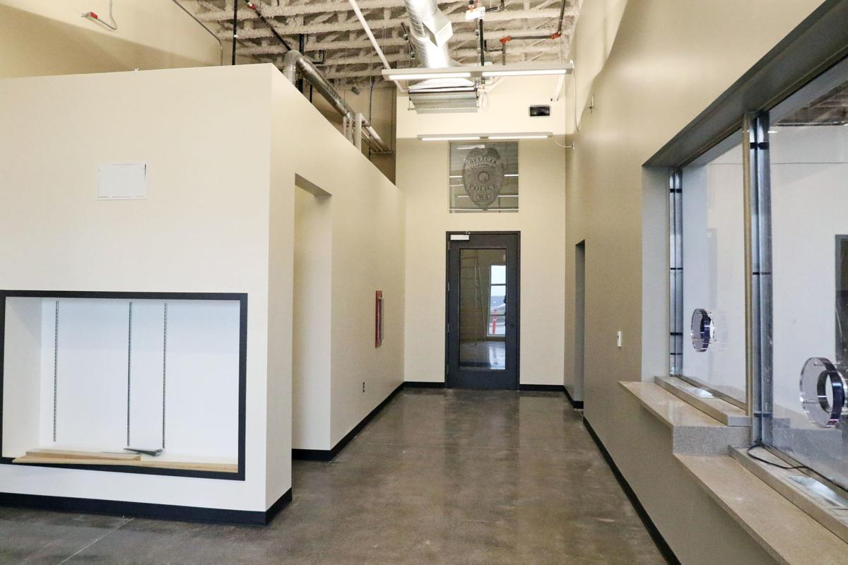 EPD Police Department's phase one renovations