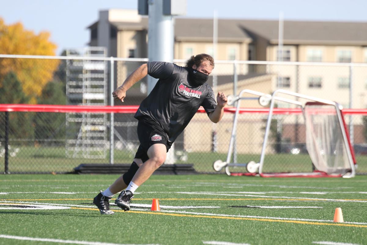 CWU Football Practice