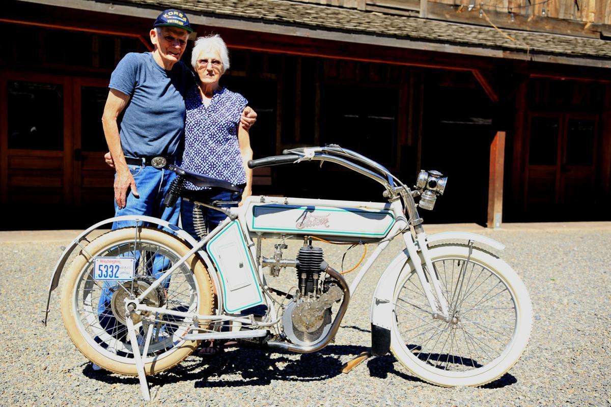 Vintage motorcycle returns to Ellensburg | News