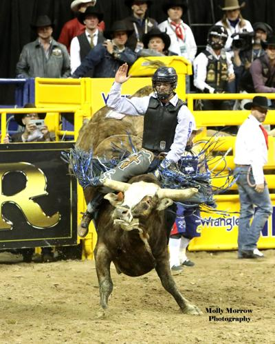 Chase Dougherty at NFR