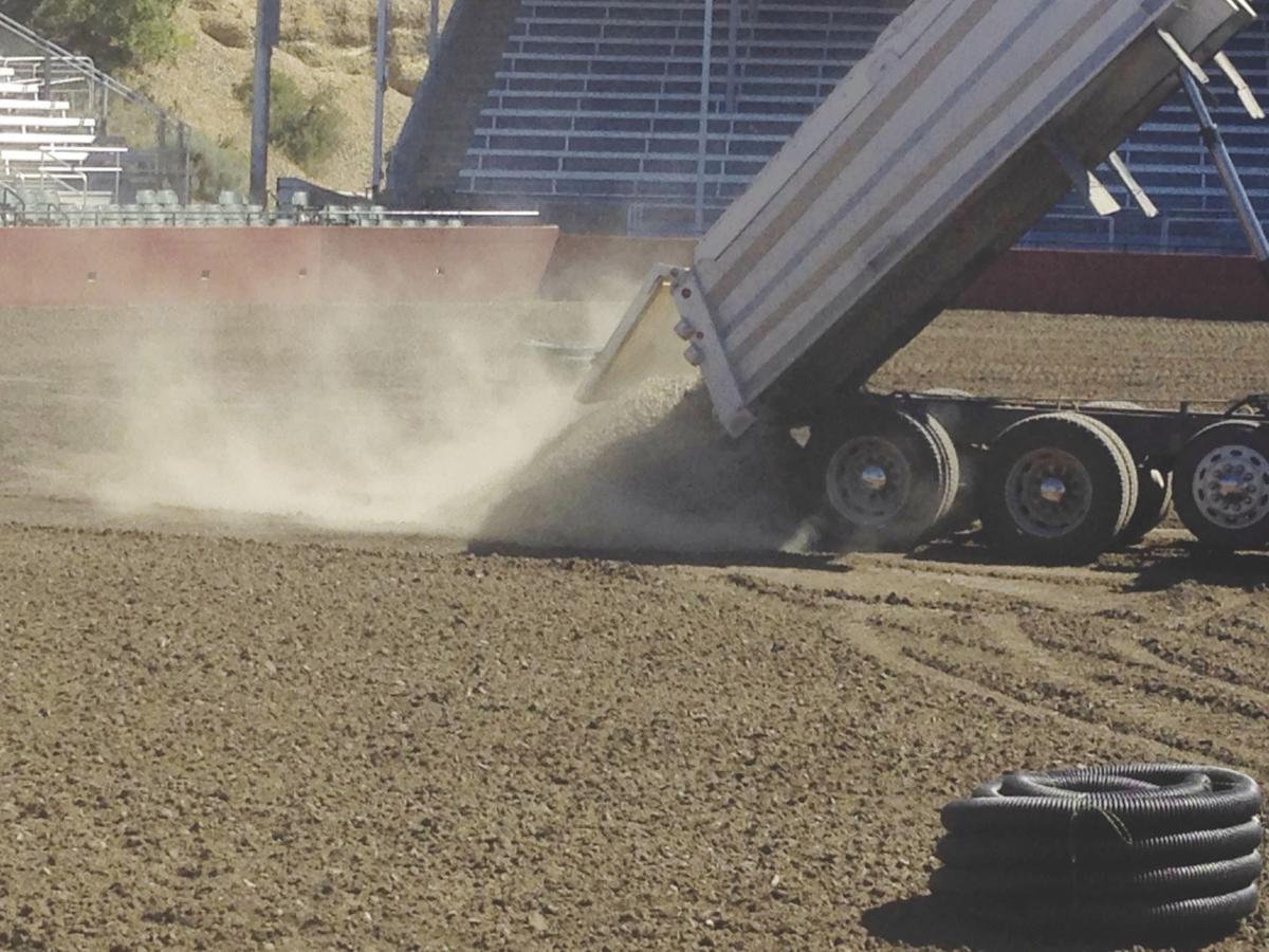 Work begins on Rodeo Arena dirt | Members | dailyrecordnews com