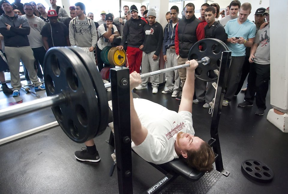 Central Washington University pro day Five Central