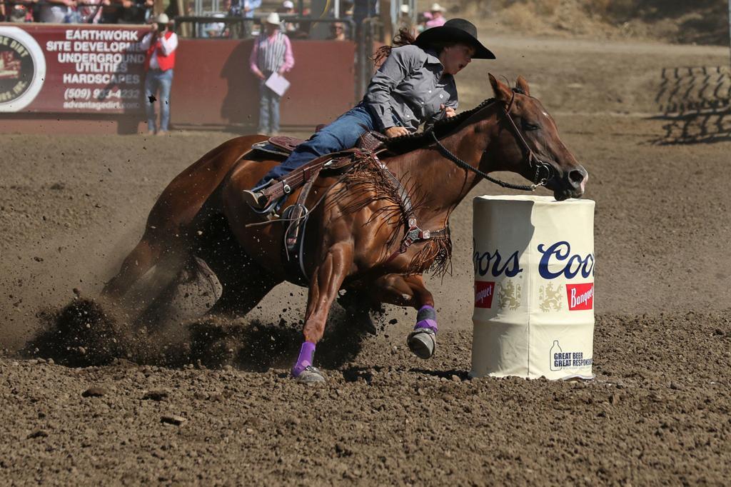 Hot momentum heading into final round   Ellensburg Rodeo