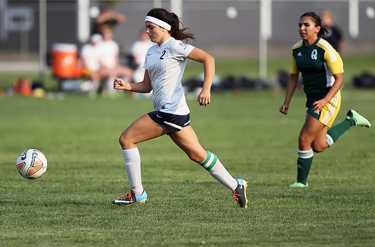 EHS vs Quincy girls soccer