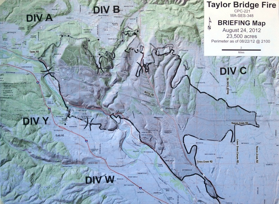 Taylor Bridge Fire Map Taylor Bridge Fire Photos Dailyrecordnews Com