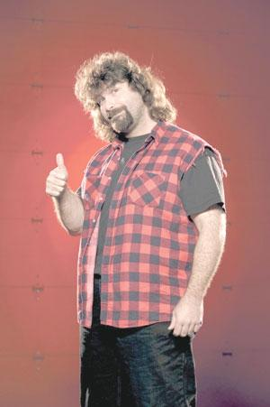 Mick Foley Man Of Many Facespro Wrestler Squares Off At Central