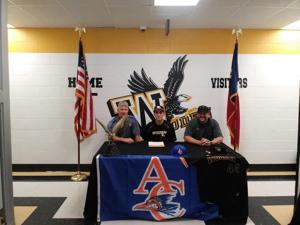 Woden pitcher signs with Angelina JC