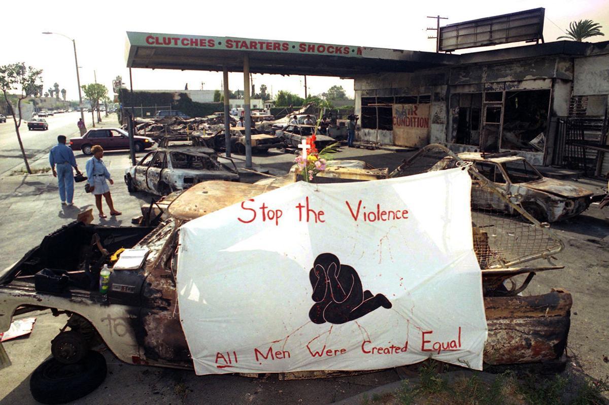 America Protests Rodney King Flashback