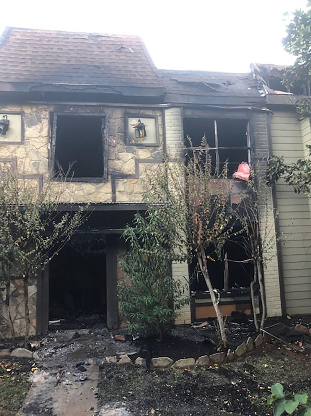 Taliesin Apartments Fire