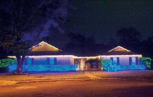 christmas lights in nacogdoches county in december 2016