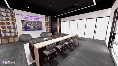 Dr. Bill and Barbara Gandy Men's Basketball Player Lounge
