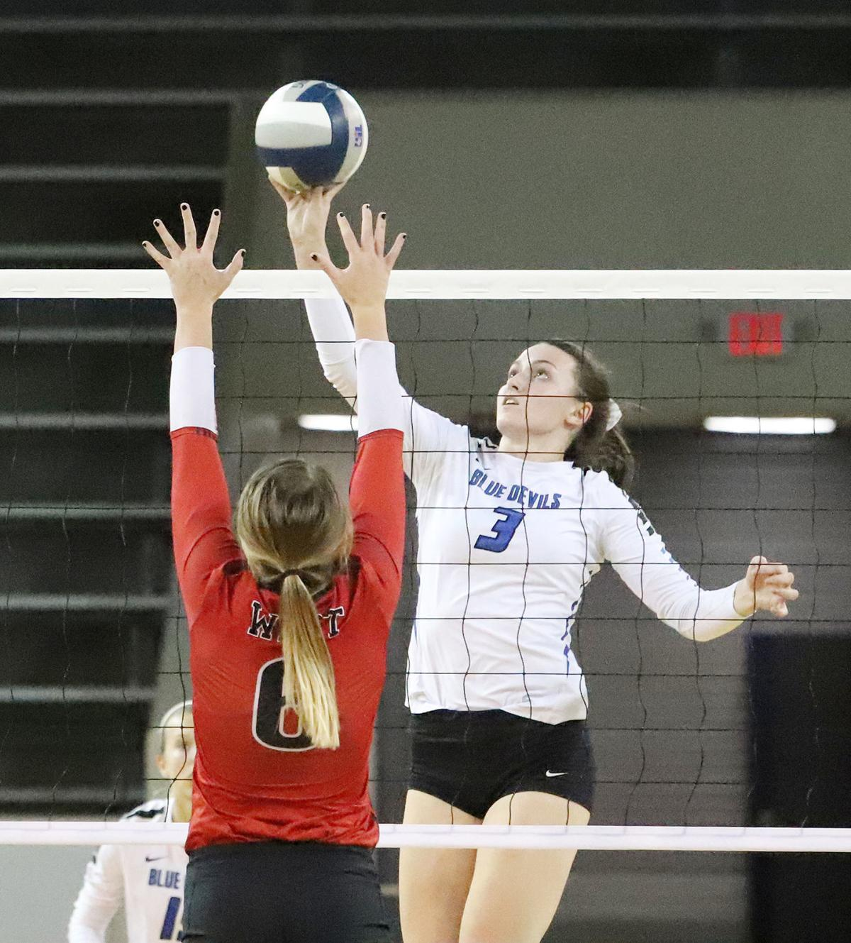 Central Heights Volleyball - Chloe Cook