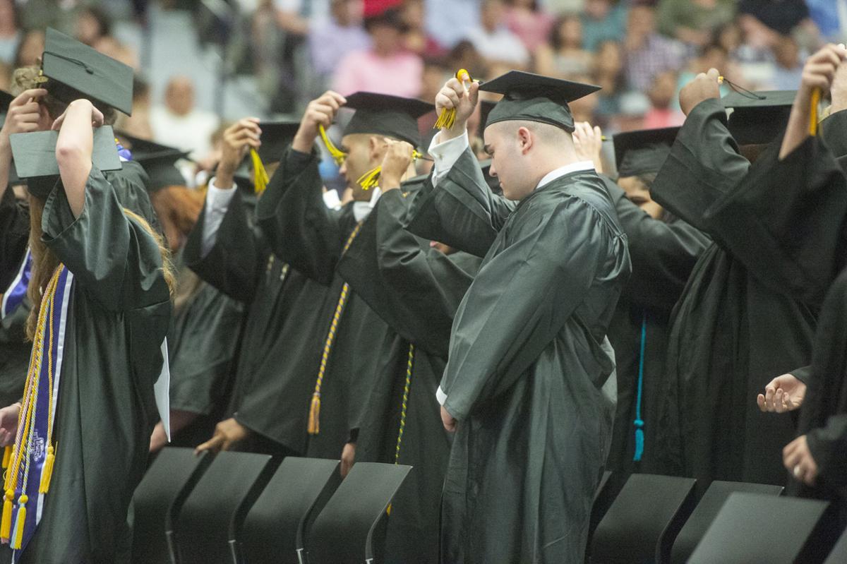 Nacogdoches High School graduation, May 21, 2019.